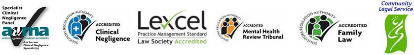 Fairweather Solicitors LLP - Accreditations 2012