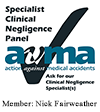 AvMA Panel logo | Member Nick Fairweather